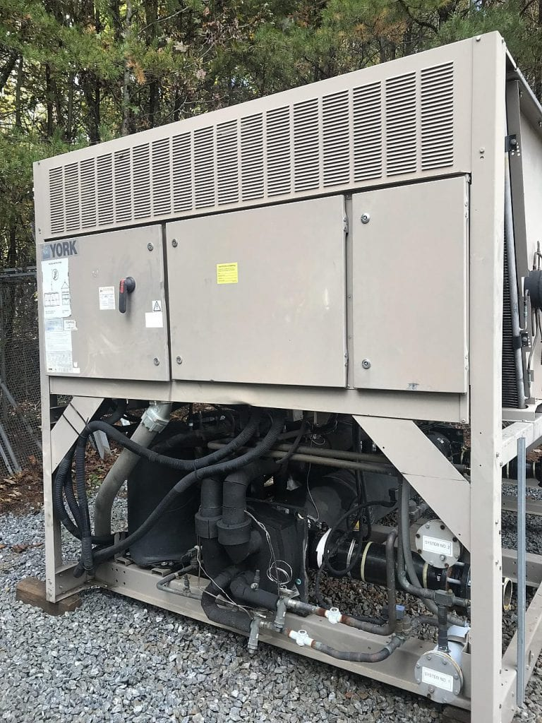 115 Ton York Air Cooled Chiller