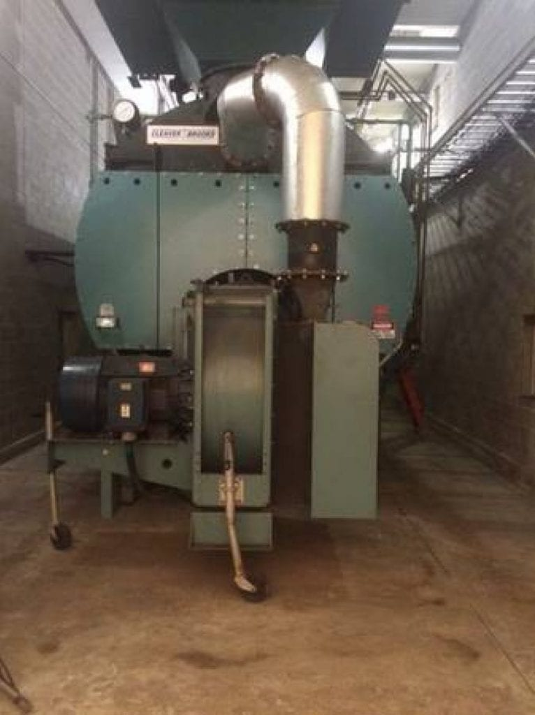 1500 HP Cleaver Brooks Boiler