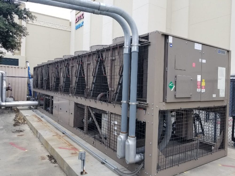 300 Ton York Air Colled Chiller