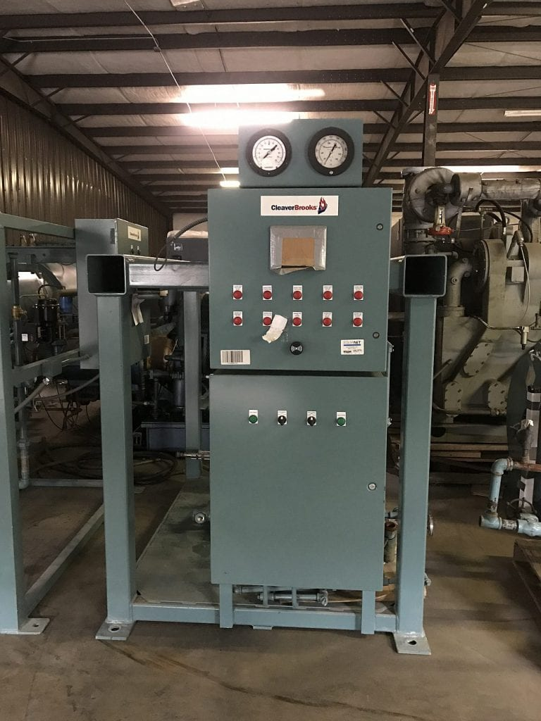 80 HP Cleaver Brooks Natural Gas Boiler