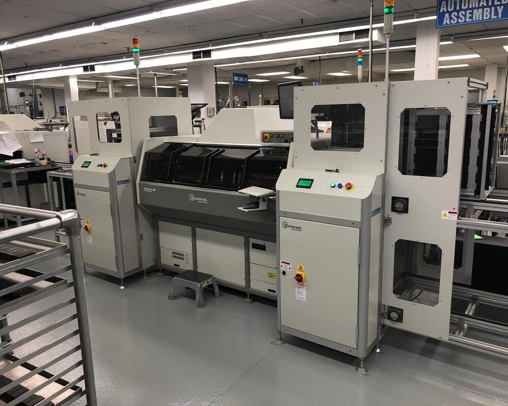 Universal Radial 88 (6380H) Radial Insertion Machine