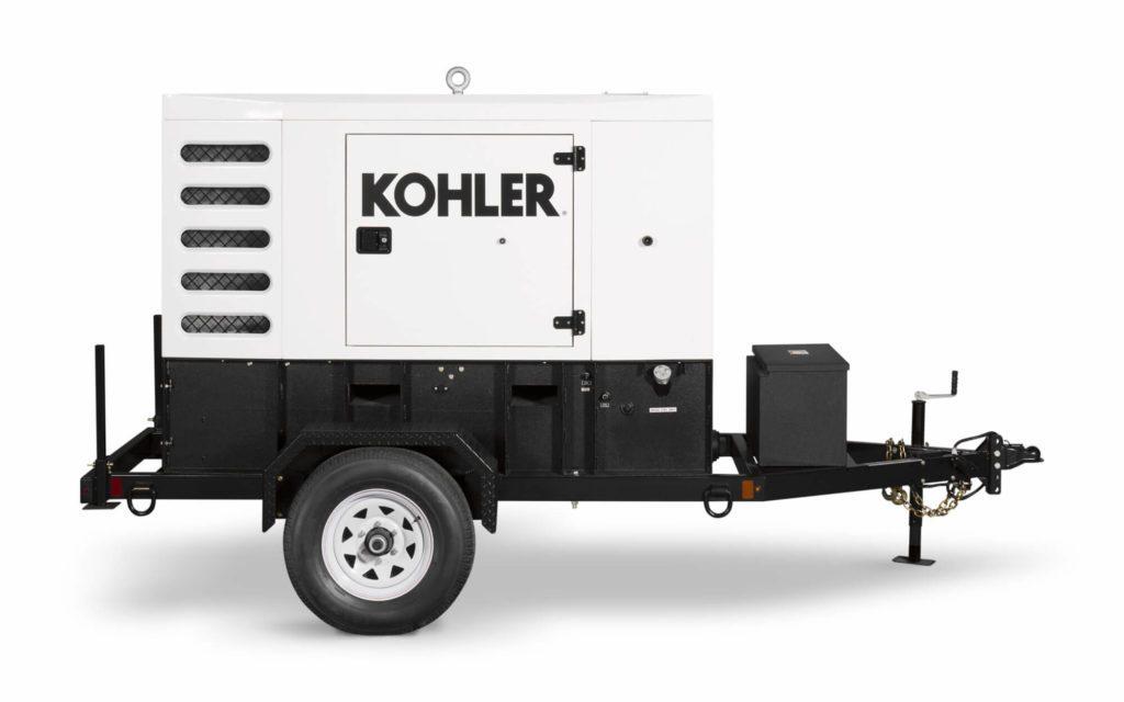 35 kW Kohler Industrial Mobile Diesel Generator